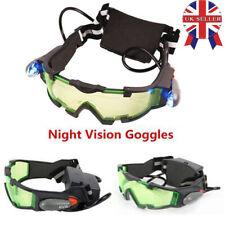 UK Elastic Band Night Vision Goggles Glasses Security Eyeshield Adjustable Kids