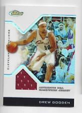 Drew Gooden Topps Finest Game Worn Jersey Card