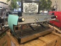 LA MARZOCCO GB5 3 GROUP MATTE DUCK EGG BLUE ESPRESSO COFFEE MACHINE CAFE BARISTA