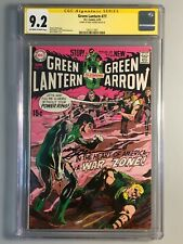 Green Lantern 77 - CGC 9.2 - Signed by Neal Adams