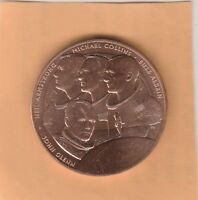 (N)  Token - USA Mint Medal - Glenn, Armstrong, Collins, Aldrin - 38 MM Copper