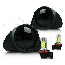 03-05 Toyota Echo Fog Lights w/Wiring & High Power COB LED Bulbs - Super Smoke