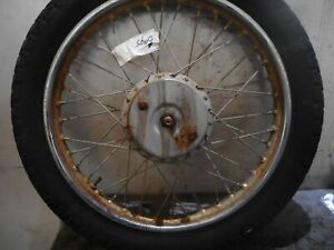 BSA Bantam D7 Front Wheel