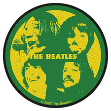 The BEATLES-ricamate patch Faces circa NUOVO!