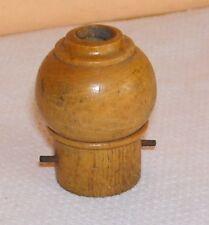 Douille voleuse en bois de buis  - Décoration Collection Loft - Port gratuit.
