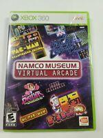 ⭐ BRAND NEW Namco Museum Virtual Arcade (Microsoft Xbox 360 2008) FACTORY SEALED
