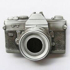 3D Camera Photography Belt Buckle