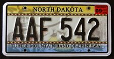 NORTH DAKOTA TURTLE MOUNTAIN CHIPPEWA NATION TRIBE Indian Graphic License Plate