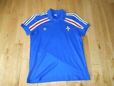 Adidas Originals FRANCE FFF Soccer Polo Jersey Kit Mens XL #10 Zidane FIFA