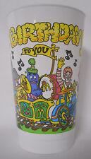 VINTAGE! 1985 McDonald's Happy Birthday Zoo Express Plastic Cup