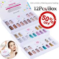 ibccndc BB Foundation Cream Serum Kit BOOSTER Whitening Treatment 12Pcs/set