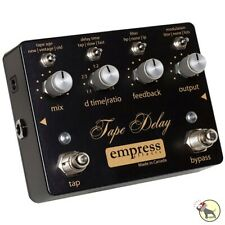 Empress Tape Delay True Bypass Trails Analog Dry Guitar Effects Pedal
