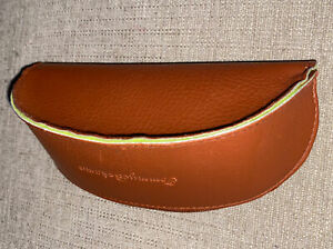 TOMMY BAHAMA Brown Zippered EYEGLASS / SUNGLASSES CASE