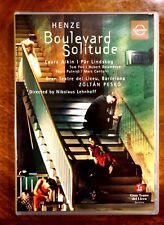 Henze - Boulevard Solitude, Gran Teatre Del Liceu, Pesko, Lehnhof  - DVD, As New