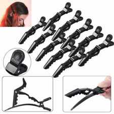 10pcs Pro Black women Hairdressing Sectioning Hair Clips Salon Styling Grip