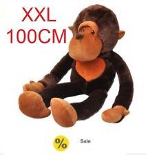 Kids Big Cute Cuddly Toy Monkey Large XXL Soft Toy Plush 100cm Birthday Gift 1M