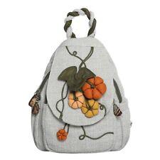 Fashion Pumpkin Pattern Women Backpack Shoulder Bag Girl Leisure Travel Rucksack