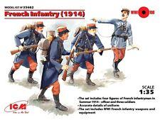 ARMS français/Francese 1914 1/35 FANTERIA ICM NUOVO di zecca!