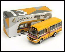 TINY HONG KONG CITY 13 Toyota Coaster School Bus VAN NEW DIECAST CAR