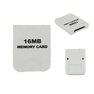 🔥 Fashion Useful White16MB 16M Memory Card For Nintendo Wii Gamecube GC Game