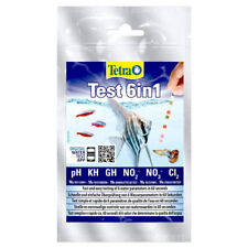 Tetra 6 in 1 Water Test Kit Aquarium - Nitrate PH KH Nitrite Tropical Fish Tank