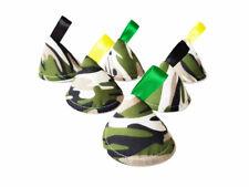 Camuflaje Pee Tipi x6/Wee detener conos Teepees, bebé ducha regalo/Verde Camuflaje