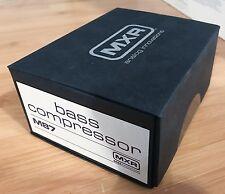 MXR Bass Compressor M87 Bass Compressor Pedal, BRAND NEW