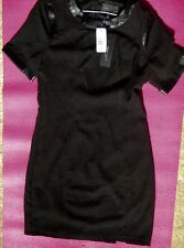 NWT BLACK ROMEO AND JULIET COUTURE DRESS WITH EMBELLISHMENTS SIZE MEDIUM