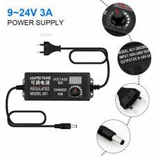 Adjustable Ac To Dc 3 12v 3 24v 9 24v Voltage Regulated Led Display Euus Plug