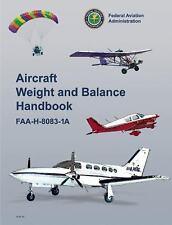 Aircraft Weight and Balance Handbook: FAA-H-8083-1A (FAA Handbooks series)