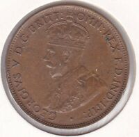 CB1445) Australia 1923 Halfpenny. Lovely fault free coin in About Unc. Condition