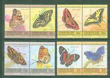Union Island - Schmetterlinge Butterflies Papillons Lepidoptera - Nr. 94-101
