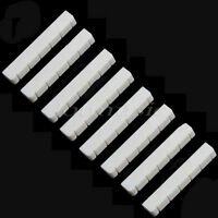 8 Pcs Bone Guitar Nut for Classical Guitar Parts Replacement