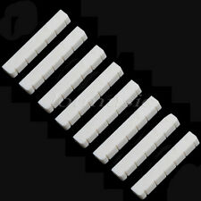 New 8pcs Real Bone Guitar Nut Slotted Up-Saddle For Classical Guitar 6 String