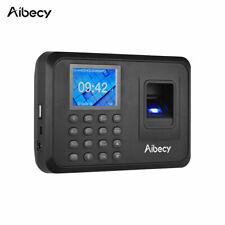 Biometric Clocking in Fingerprint Scanner USB Data Download Aibecy NEW UK PLUG