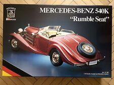 Vintage Pocher Mercedes-Benz 540K Rumble Seat K-90 Kit 1/8, 12-80, Boys