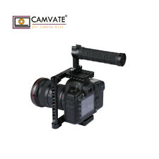 CAMVATE DSLR Camera Cage Rig Handle for Canon 60D 80D 5D Markiii 1200D Sony A7II