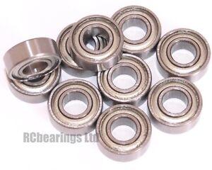 5x11x4mm 5x11x4 Bearings Bearing Metal Rubber Seal Shielded CODE MR115zz MR115rs