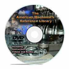 American Machinist Reference Library, Machinery Handbook, Jig Gear Die Books V24