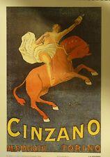CAPPIELLO CINZANO VERMOUTH CAVALLO ROSSO PUBBLICITà TORINO