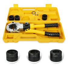 Pipe Crimping Tool Pex Pipe Crimper Pressing tools w/ TH Dies 16, 20, 26, 32