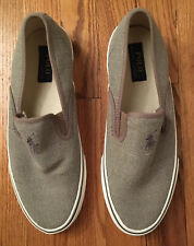 New Polo Ralph Lauren Men's Shoes Canvas Boaters Size 10