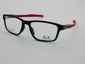 OAKLEY METALINK OX8153-0653 Satin Black 53mm Rx Authentic Eyeglasses