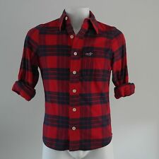 Hollister surf plaid shirt size S