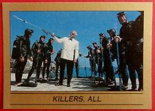 JAMES BOND - Thunderball - Base Card #100 - KILLERS, ALL - Eclipse 1993