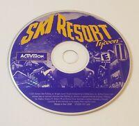Ski Resort Tycoon II PC CD-Rom 2001 Windows simulation game
