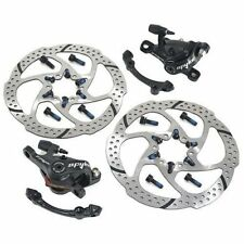 Fast Shipping TRP SPYKE MTB Alloy Mechancial Disc Brake Set 160mm Rotor (F+R)