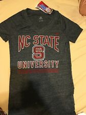 NC State Women's Tshirts Small Grey New With Tags