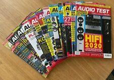 Audio Test  HiFi Zeitschrift  - 12 Ausgaben 5/18 - 8/19