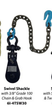 4 TON SNATCH BLOCK WITH CHAIN FOR WRECKERS AND FLATBEDS FOR 3/8-1/2  WIRE CABLE